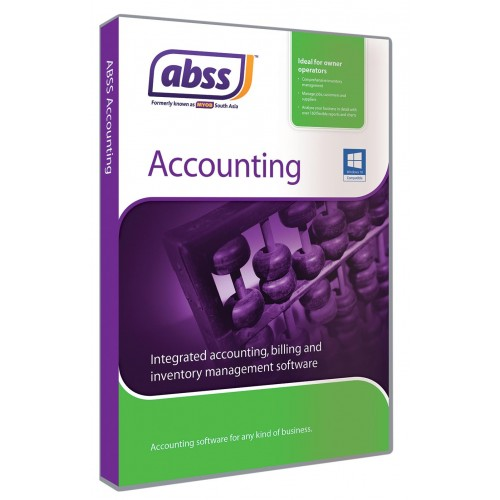 abss MYOB Accounting V27.2 (1用戶版 )